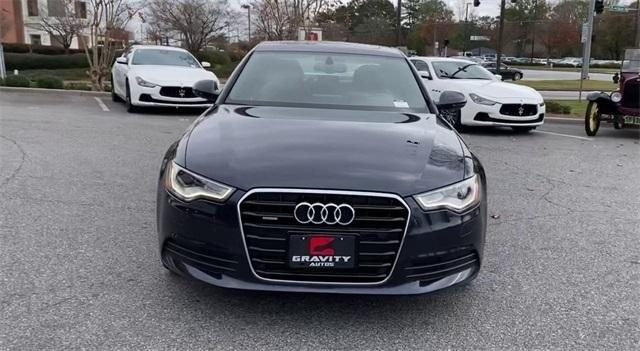 Used 2013 Audi A6 2.0T Premium Plus for sale Sold at Gravity Autos Roswell in Roswell GA 30076 4