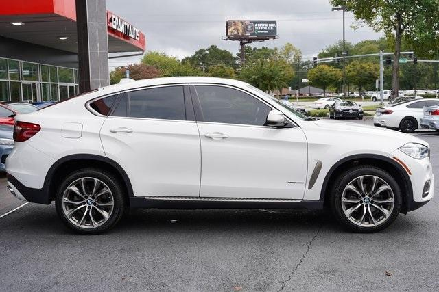 Used 2018 BMW X6 xDrive35i for sale $50,996 at Gravity Autos Roswell in Roswell GA 30076 8