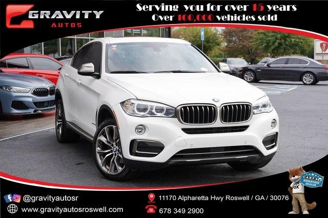 Used 2018 BMW X6 xDrive35i for sale $50,996 at Gravity Autos Roswell in Roswell GA 30076 1