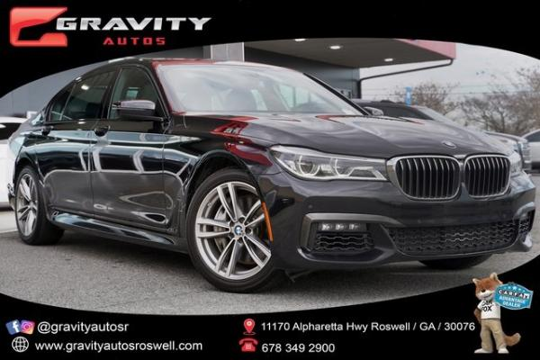 Used 2018 BMW 7 Series 750i for sale $46,892 at Gravity Autos Roswell in Roswell GA