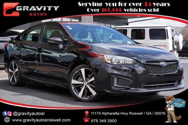 Used 2018 Subaru Impreza 2.0i Sport for sale $19,493 at Gravity Autos Roswell in Roswell GA 30076 1
