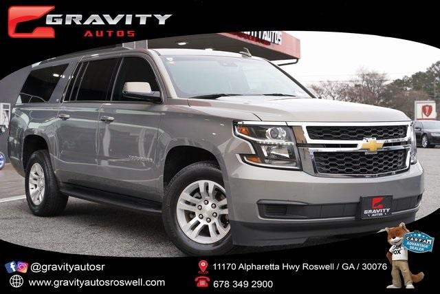 Used 2018 Chevrolet Suburban LT for sale Sold at Gravity Autos Roswell in Roswell GA 30076 1