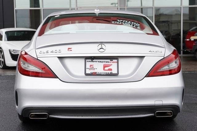 Used 2016 Mercedes-Benz CLS CLS 400 for sale $35,998 at Gravity Autos Roswell in Roswell GA 30076 12