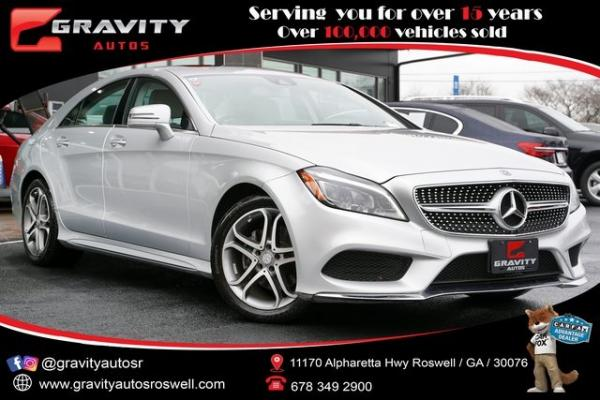 Used 2016 Mercedes-Benz CLS CLS 400 for sale $35,998 at Gravity Autos Roswell in Roswell GA