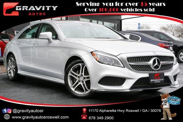 Used 2016 Mercedes-Benz CLS CLS 400 for sale $35,998 at Gravity Autos Roswell in Roswell GA 30076 1