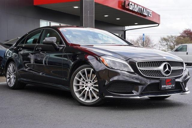 Used 2017 Mercedes-Benz CLS CLS 550 for sale Sold at Gravity Autos Roswell in Roswell GA 30076 2