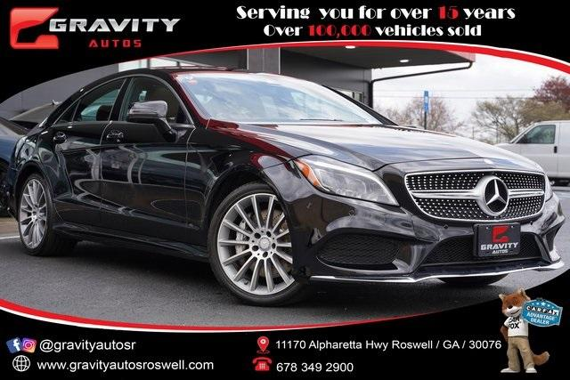 Used 2017 Mercedes-Benz CLS CLS 550 for sale Sold at Gravity Autos Roswell in Roswell GA 30076 1