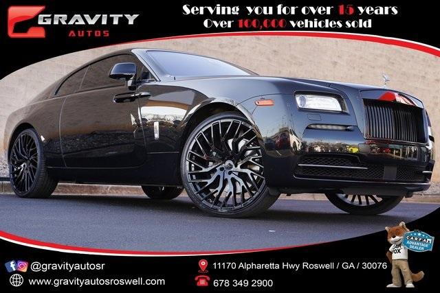 Used 2015 Rolls-Royce Wraith Base for sale $181,998 at Gravity Autos Roswell in Roswell GA 30076 1