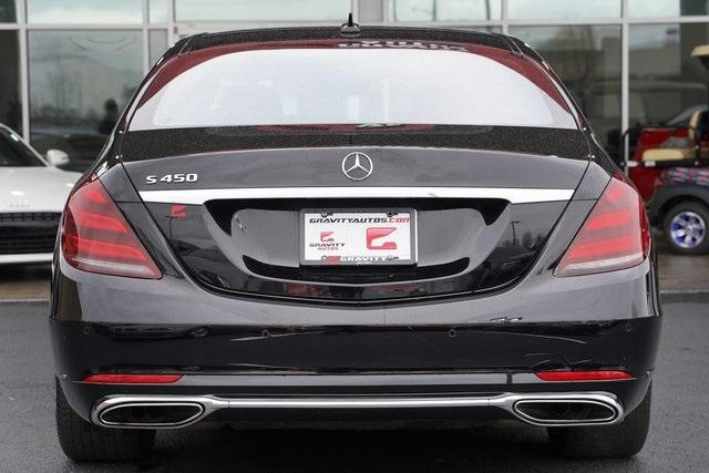 Used 2018 Mercedes-Benz S-Class S 450 for sale $60,992 at Gravity Autos Roswell in Roswell GA 30076 10