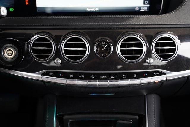 Used 2018 Mercedes-Benz S-Class S 450 for sale $60,992 at Gravity Autos Roswell in Roswell GA 30076 21