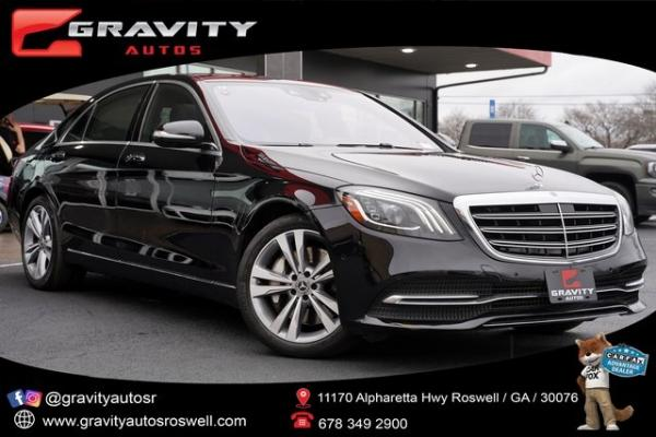 Used 2018 Mercedes-Benz S-Class S 450 for sale $60,992 at Gravity Autos Roswell in Roswell GA
