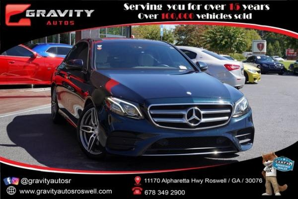 Used 2017 Mercedes-Benz E-Class E 300 for sale $33,992 at Gravity Autos Roswell in Roswell GA