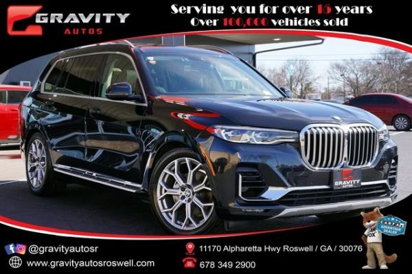 Used 2020 BMW X7 xDrive40i for sale $71,997 at Gravity Autos Roswell in Roswell GA