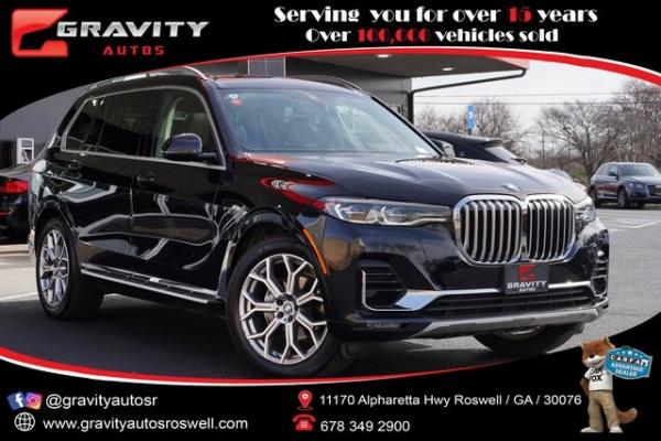 Used 2020 BMW X7 xDrive40i for sale $71,991 at Gravity Autos Roswell in Roswell GA