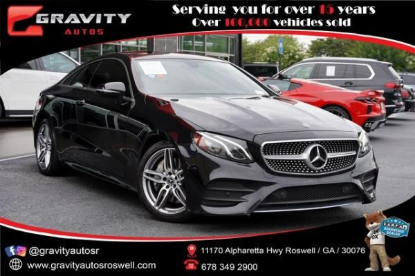 Used 2018 Mercedes-Benz E-Class E 400 for sale $47,991 at Gravity Autos Roswell in Roswell GA