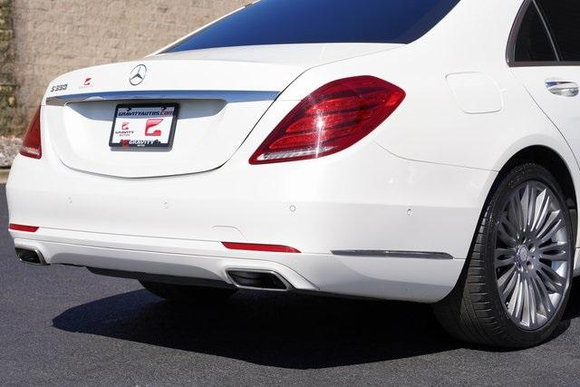 Used 2017 Mercedes-Benz S-Class S 550 for sale $51,992 at Gravity Autos Roswell in Roswell GA 30076 13