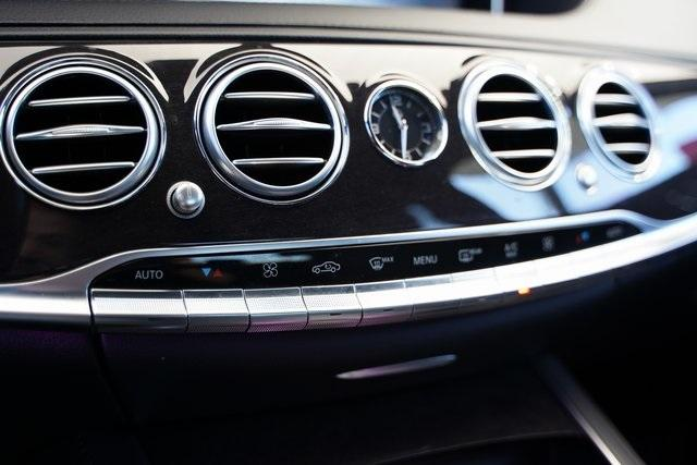 Used 2017 Mercedes-Benz S-Class S 550 for sale $51,992 at Gravity Autos Roswell in Roswell GA 30076 23