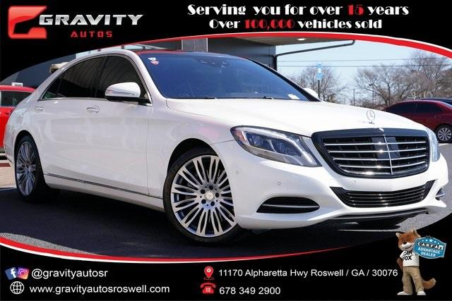 Used 2017 Mercedes-Benz S-Class S 550 for sale $51,992 at Gravity Autos Roswell in Roswell GA 30076 1