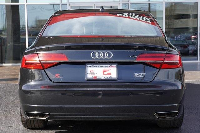 Used 2018 Audi A8 L 3.0T for sale $41,998 at Gravity Autos Roswell in Roswell GA 30076 10