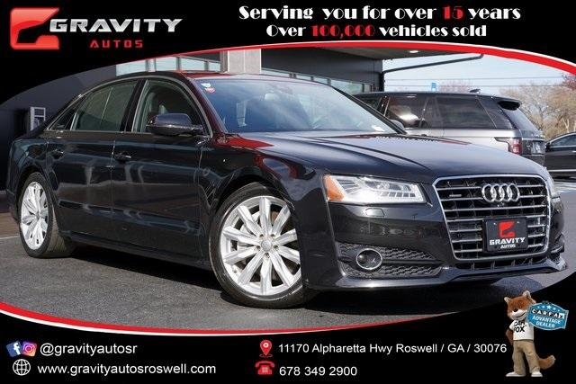 Used 2018 Audi A8 L 3.0T for sale $41,998 at Gravity Autos Roswell in Roswell GA 30076 1
