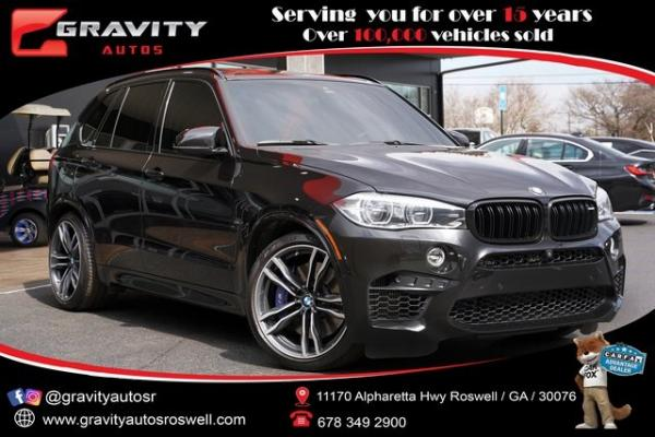 Used 2017 BMW X5 M Base for sale $66,992 at Gravity Autos Roswell in Roswell GA