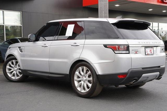 Used 2017 Land Rover Range Rover Sport 3.0L V6 Supercharged HSE for sale Sold at Gravity Autos Roswell in Roswell GA 30076 12