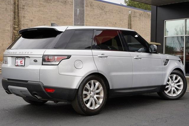 Used 2017 Land Rover Range Rover Sport 3.0L V6 Supercharged HSE for sale Sold at Gravity Autos Roswell in Roswell GA 30076 14