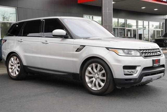Used 2017 Land Rover Range Rover Sport 3.0L V6 Supercharged HSE for sale Sold at Gravity Autos Roswell in Roswell GA 30076 7