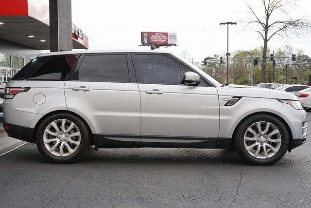 Used 2017 Land Rover Range Rover Sport 3.0L V6 Supercharged HSE for sale Sold at Gravity Autos Roswell in Roswell GA 30076 8