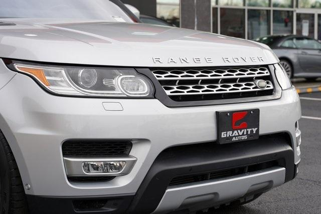 Used 2017 Land Rover Range Rover Sport 3.0L V6 Supercharged HSE for sale Sold at Gravity Autos Roswell in Roswell GA 30076 9