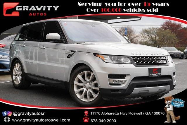 Used 2017 Land Rover Range Rover Sport 3.0L V6 Supercharged HSE for sale Sold at Gravity Autos Roswell in Roswell GA 30076 1