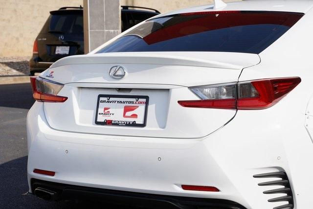 Used 2016 Lexus RC 350 for sale $34,482 at Gravity Autos Roswell in Roswell GA 30076 14