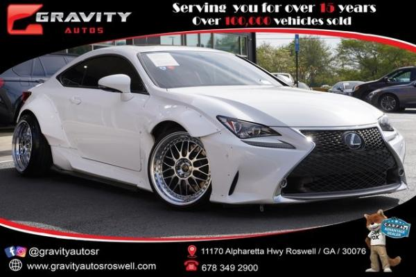 Used 2016 Lexus RC 350 for sale $34,491 at Gravity Autos Roswell in Roswell GA