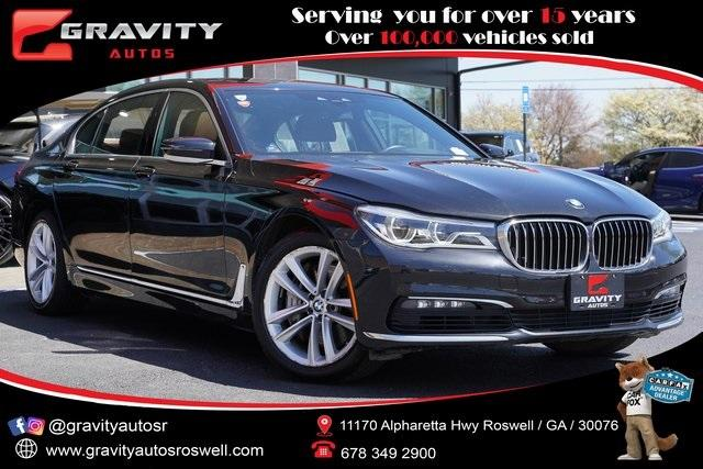 Used 2018 BMW 7 Series 750i xDrive for sale $54,491 at Gravity Autos Roswell in Roswell GA 30076 1
