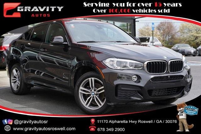 Used 2018 BMW X6 xDrive35i for sale $48,992 at Gravity Autos Roswell in Roswell GA 30076 1