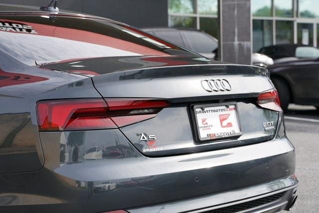 Used 2018 Audi A5 2.0T Premium Plus for sale Sold at Gravity Autos Roswell in Roswell GA 30076 13