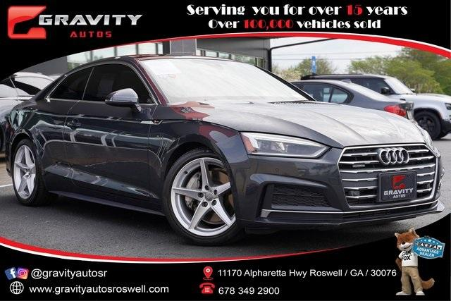 Used 2018 Audi A5 2.0T Premium Plus for sale Sold at Gravity Autos Roswell in Roswell GA 30076 1