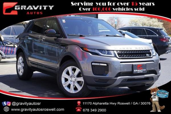 Used 2017 Land Rover Range Rover Evoque SE Premium for sale $32,791 at Gravity Autos Roswell in Roswell GA
