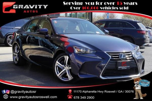 Used 2018 Lexus IS 300 for sale $31,491 at Gravity Autos Roswell in Roswell GA