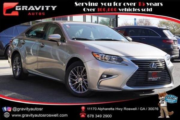 Used 2018 Lexus ES 350 for sale $30,491 at Gravity Autos Roswell in Roswell GA