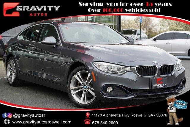 Used 2017 BMW 4 Series 430i xDrive Gran Coupe for sale $29,992 at Gravity Autos Roswell in Roswell GA 30076 1