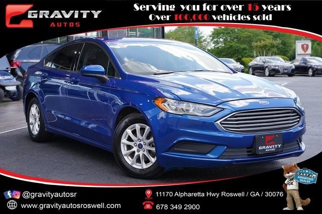 Used 2017 Ford Fusion S for sale $14,491 at Gravity Autos Roswell in Roswell GA 30076 1