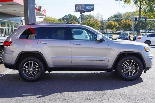 Used 2018 Jeep Grand Cherokee Limited for sale $29,998 at Gravity Autos Roswell in Roswell GA 30076 8