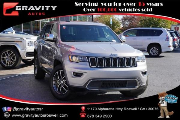 Used 2018 Jeep Grand Cherokee Limited for sale $29,998 at Gravity Autos Roswell in Roswell GA