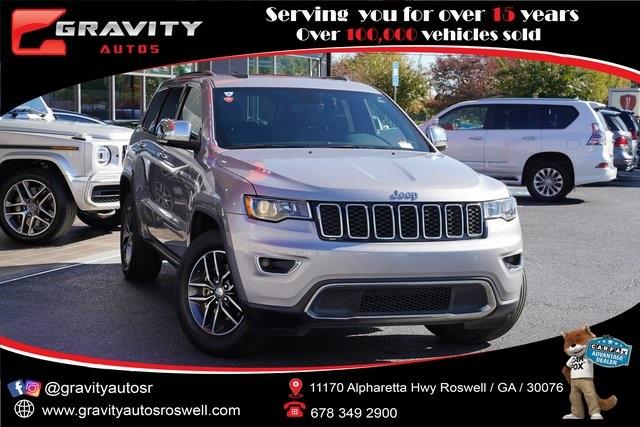 Used 2018 Jeep Grand Cherokee Limited for sale $29,998 at Gravity Autos Roswell in Roswell GA 30076 1