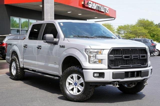 Used 2017 Ford F-150 XL for sale $34,992 at Gravity Autos Roswell in Roswell GA 30076 2