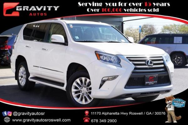 Used 2017 Lexus GX 460 for sale $39,998 at Gravity Autos Roswell in Roswell GA