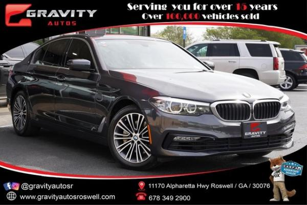 Used 2018 BMW 5 Series 530i xDrive for sale $32,996 at Gravity Autos Roswell in Roswell GA