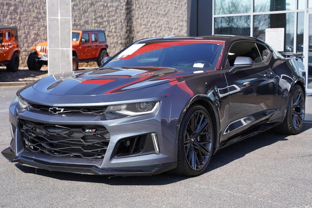 Used 2019 Chevrolet Camaro ZL1 for sale $62,992 at Gravity Autos Roswell in Roswell GA 30076 4