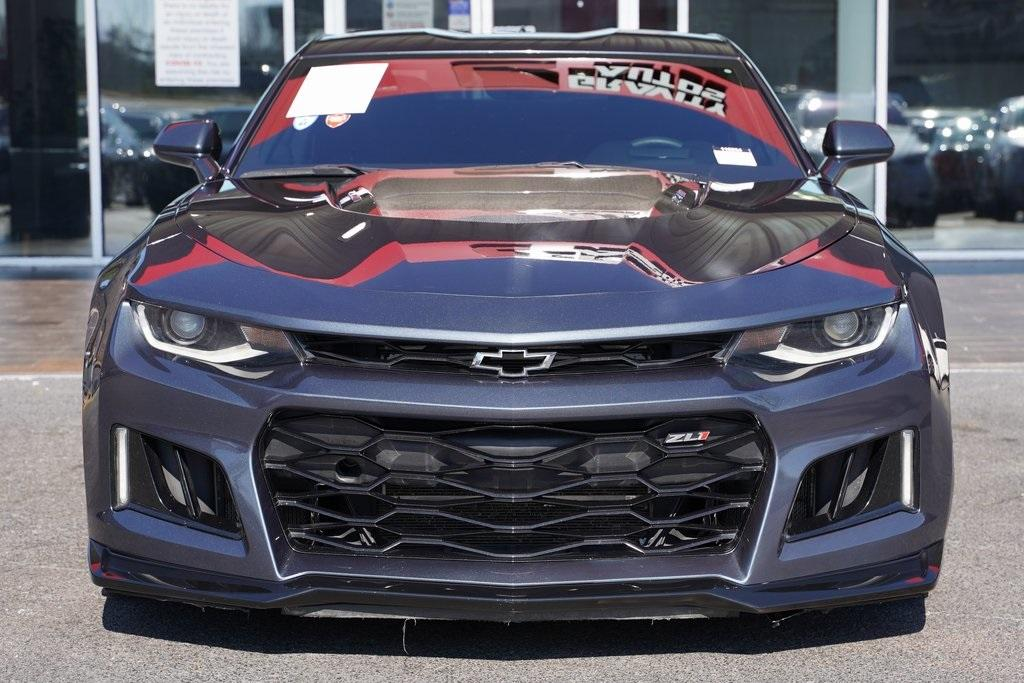 Used 2019 Chevrolet Camaro ZL1 for sale $62,992 at Gravity Autos Roswell in Roswell GA 30076 5